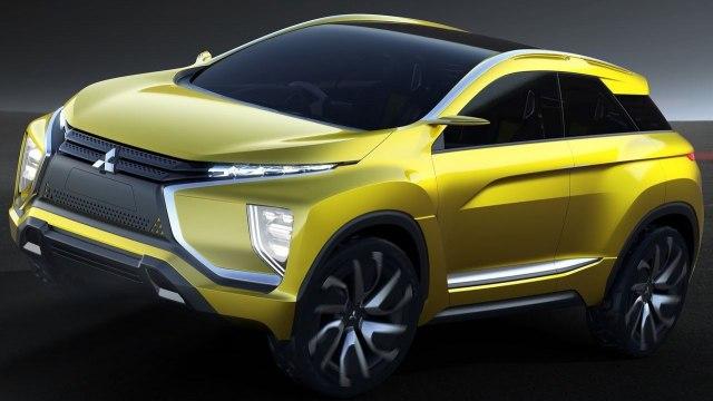 Mitsubishi eX Concept 2016.
