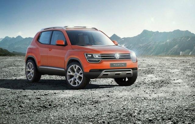 VW Taigun Conicept 2014. (Photo: Volkswagen promo)
