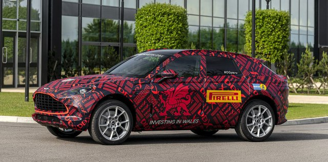 Pretprodukcijski DBX (Foto: Aston Martin promo)
