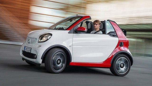 Smart ForTwo Cabrio (Foto: Smart promo)