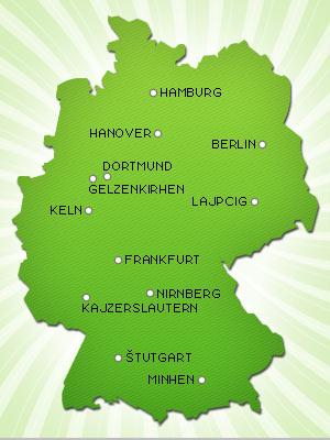 mapa nemacke keln B92 Sport specijal   Svetsko prvenstvo u fudbalu, Nemačka 2006 mapa nemacke keln