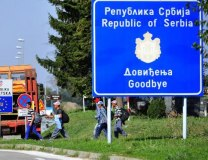 Refugees crossing from Serbia to Croatia (Tanjug, file)