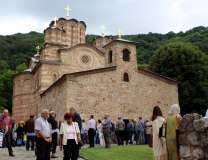 The Ravanica Monastery, Prince Lazar's endowment and his resting place is seen on Tuesday (Tanjug)