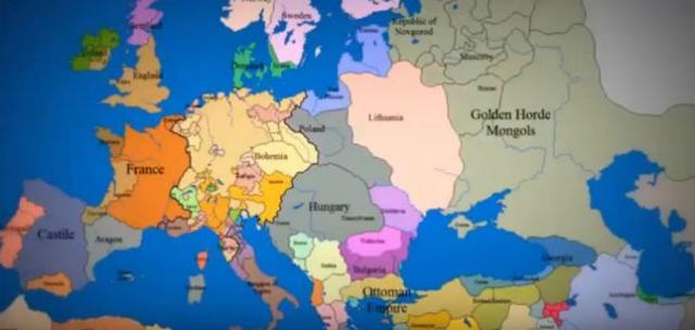 Kako Su Se Granice Evrope Menjale U Poslednjih 1000 Godina Video
