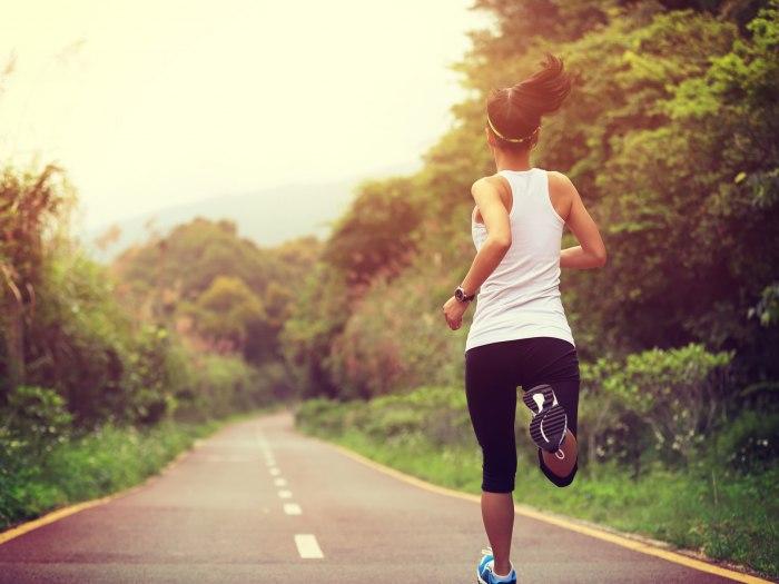 trcanje gubljenje kilograma