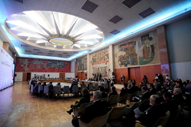 The conference at the Palace of Serbia (Tanjug)