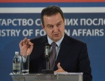 Dacic addresses reporters on Friday (Tanjug)