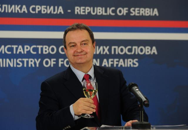 Albanian language agency published fake interview - Dacic