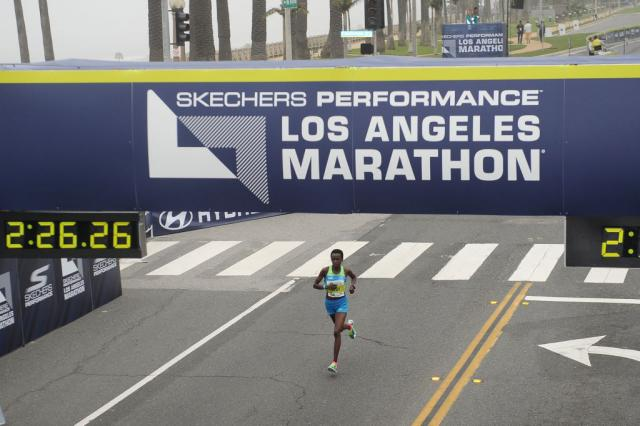 Photo by Jonathan Moore/Getty Images for LA Marathon