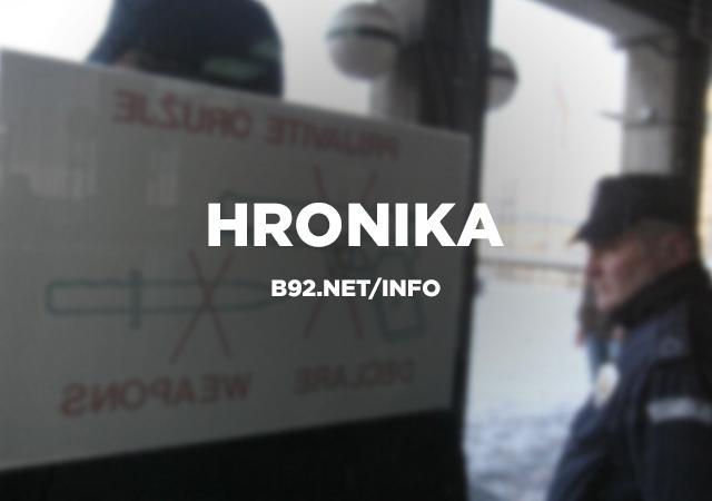 Sudar dva kamiona na obilaznici oko Beograda