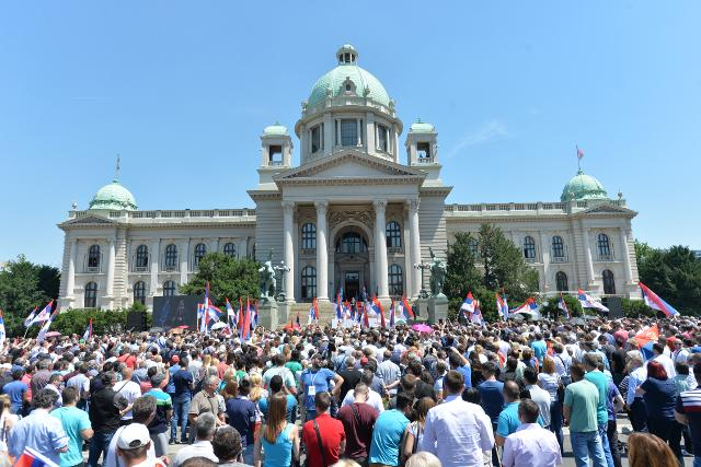The Serbian Assembly on Wednesday (Tanjug)