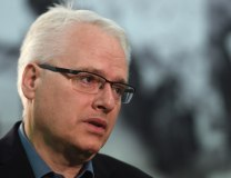 Josipovic is seen during his May visit to Belgrade (Tanjug)