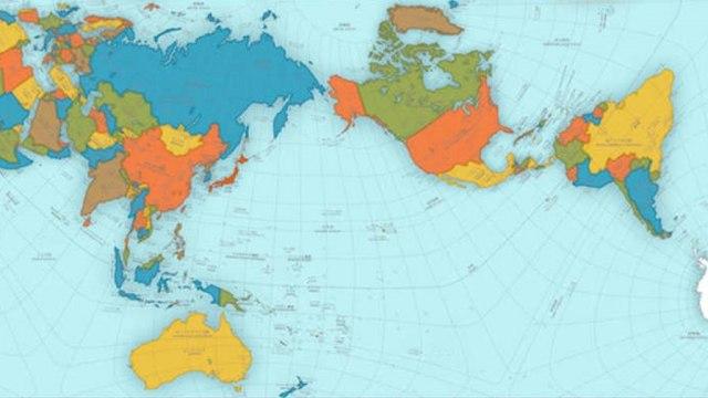 Najpreciznija Mapa Sveta Ne Lici Ni Na Sta Sto Ste Do Sada Videli
