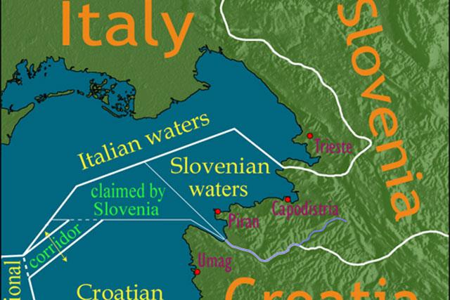 tensions escalate between slovenia and croatia regionenglish on
