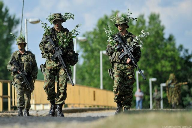 Serbian Army soldiers are seen during a past drill held in Serbia (Tanjug, file)