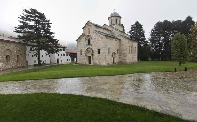 The Serbian medieval Orthodox Monastery Visoki Decani in Kosovo (Tanjug, file, illustration purposes)