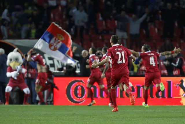 Картинки по запросу serbia football team