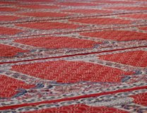 (Alessandra Kocman, Carpets in the Umayyad Mosque in Damascus, flickr.com)