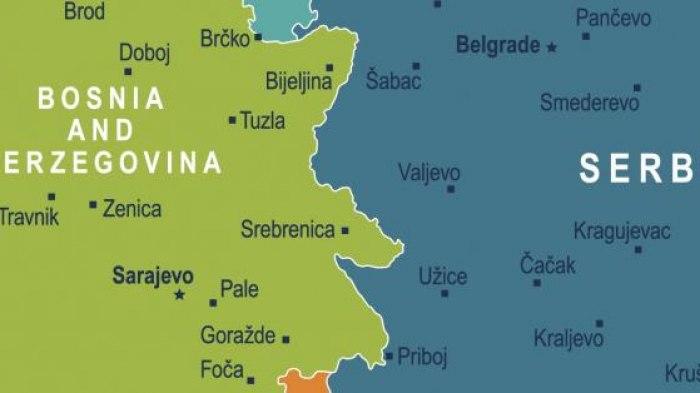 bosnia and serbia map Serbia Bosnia Border What S Contentious What Serbia Wants bosnia and serbia map