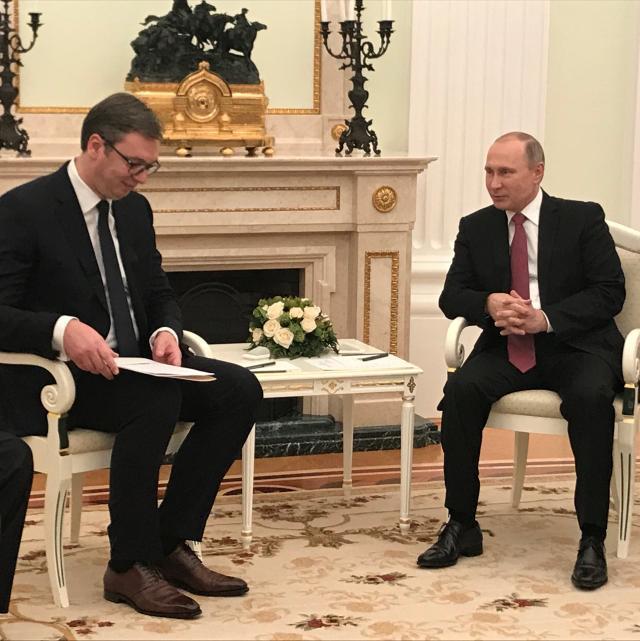 (B92/Serbian President's Office)
