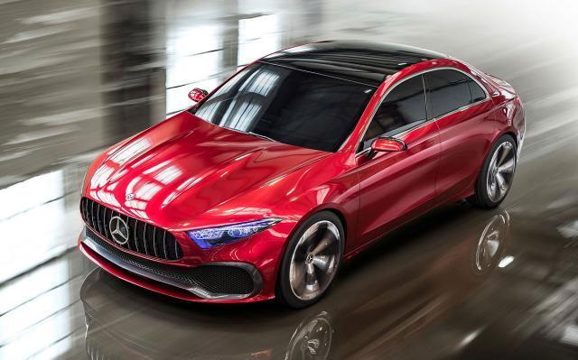Mercedesov Concept A Sedan koji je predstavljen u aprilu na sajmu u Šangaju