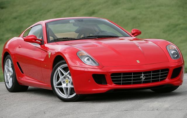 Ferrari 599 GTB (ilustracija)