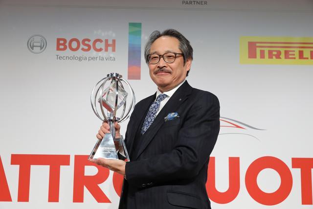 Nagradu u Milanu primio je Kijoši Fudživara, direktor u Mazda Motor Corporation