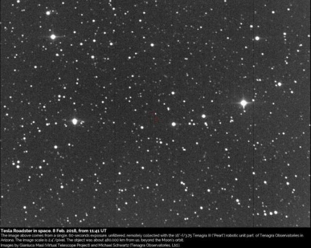 Foto: Gianluca Masi / Virtual Telescope Project / Michael Schwartz / Tenagra Observatories Ltd