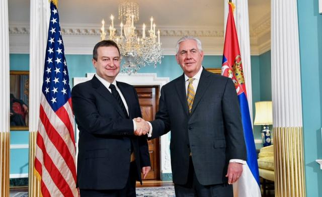 Ivica Dacic and Rex Tillerson (Tanjug)