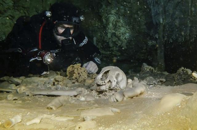 Foto: Tanjug / Jan Arild Aaserud/Great Mayan Aquifer Project-INAH via AP