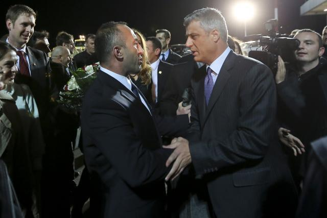 Ramush Haradinaj and Hashim Thaci (EPA, file)
