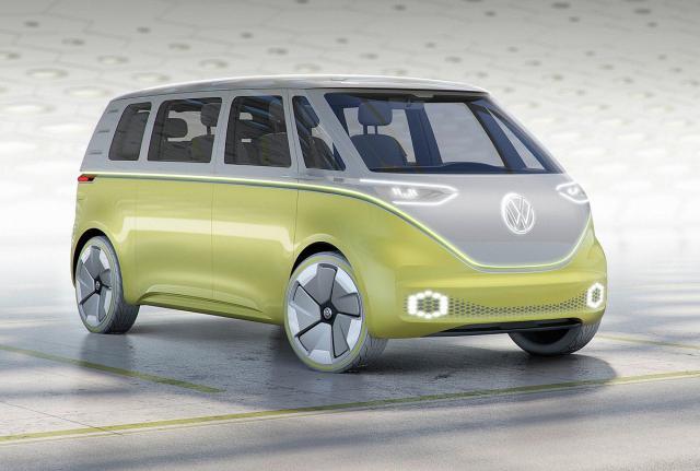 Volkswagen ID Buzz električni koncept iz 2017.
