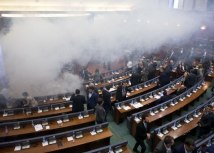 The Kosovo Assembly on Wednesday (Tanjug/AP)