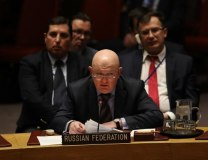 Russian Ambassador to the UN Vasily Nebenzya (Getty Images, file, illustration purposes)