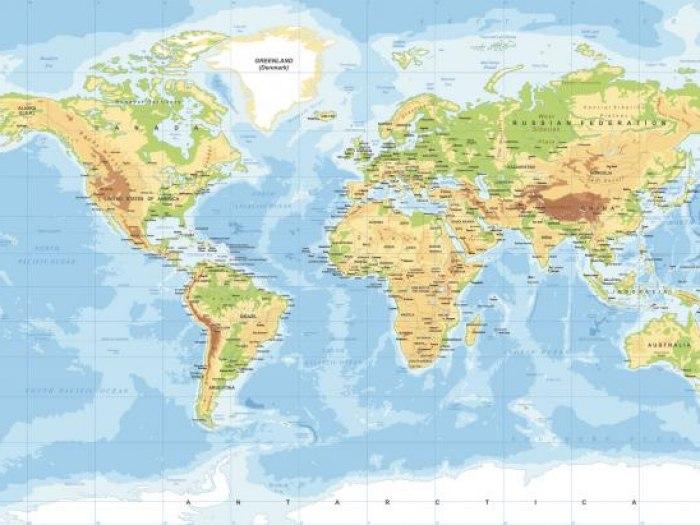 Kako Je Izgledao Svet Pre 300 Miliona Godina Mapa Komentari