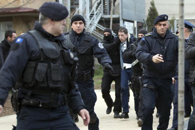 Djuric's arrest on March 26 (Tanjug, file)