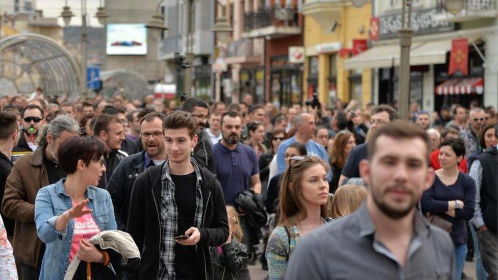 Protesti u Nišu počeli su krajem marta kada je Gradsko veće odlučilo da vlasništvo nad aerodromom prenese državi./Vanja Keser, Južne vesti