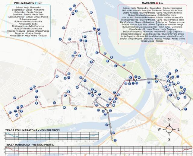 On Saturday May 31 Belgrade Marathon