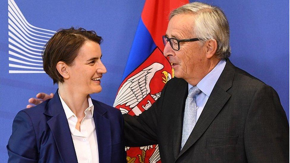 Nema problema: Ana Brnabić i Žan-Klod Junker/Getty Images