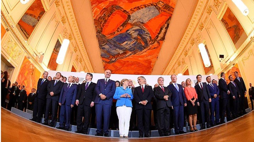 Od samita do samita: Balkanski i evropski lideri u Beču/Getty Images