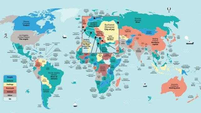 Interaktivna Mapa Saznajte Sta Znace Imena Svetskih Gradova B92