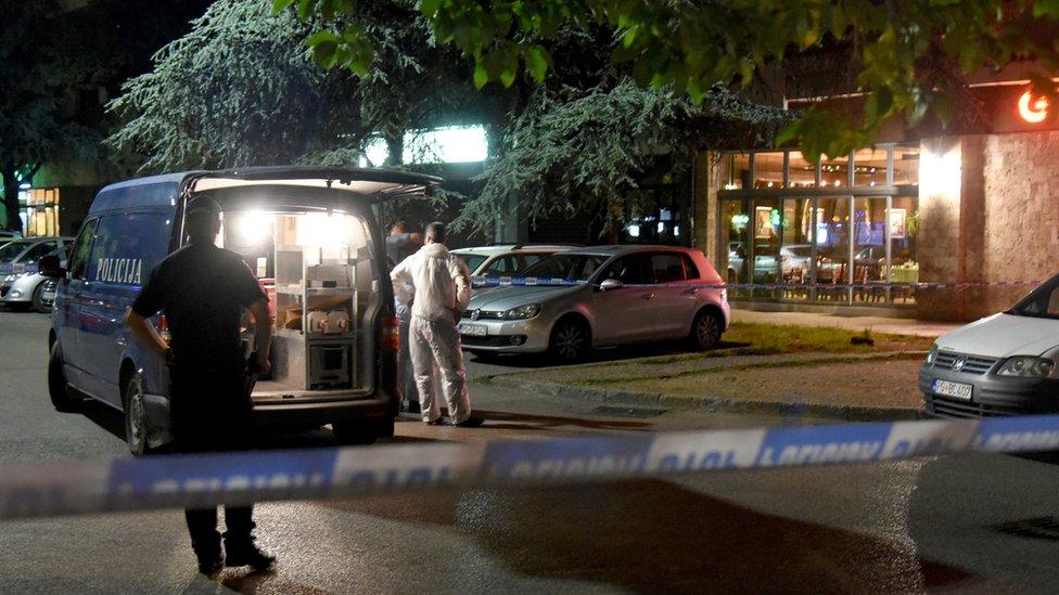 Mesto oba napada na Oliveru Lekić na podgoričkom bulevaru Svetog Petra Cetinjskog/Getty Images