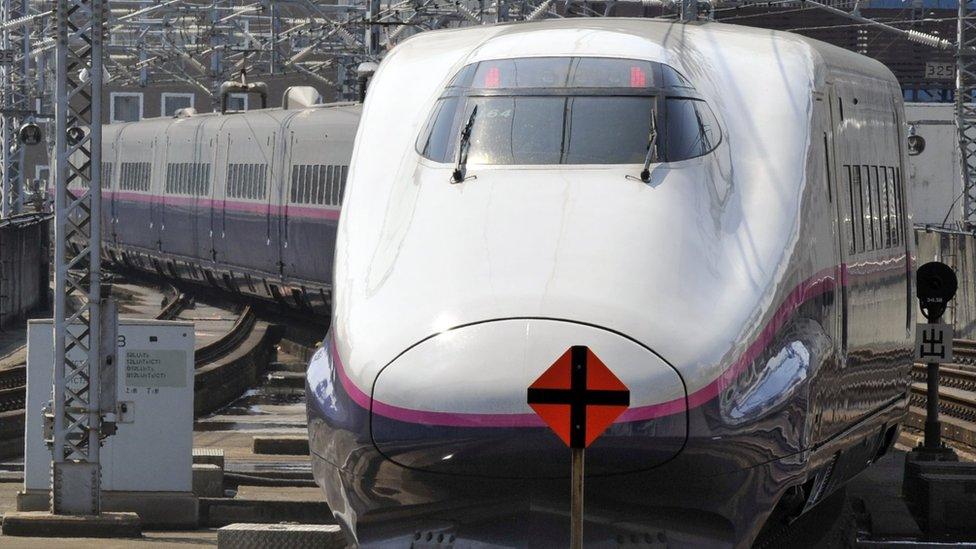Japanske vozove prati reputacija potpune tačnosti./AFP