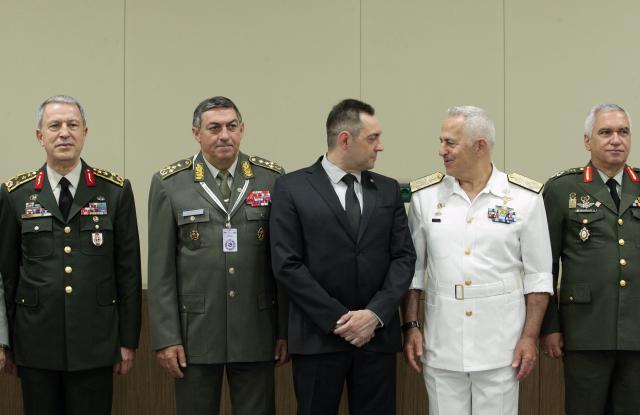 Načelnici Generalštabova balkanskih zemalja u Beogradu