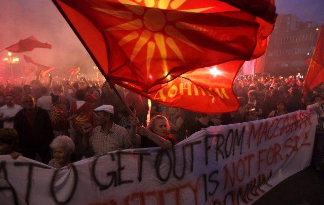 Novi protest zbog Republike Severne Makedonije