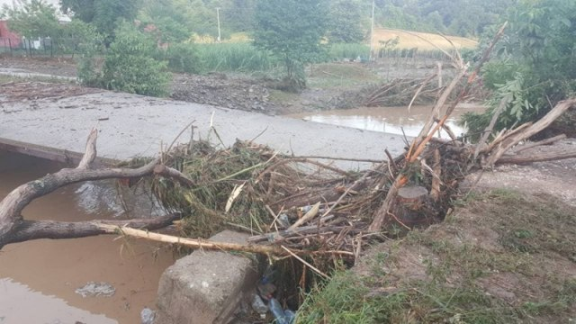 Flooding in the Ljig municipality in western Serbia on June 14 (Tanjug)