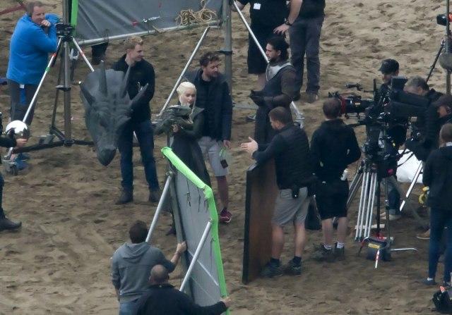 "sa snimanje ""Igre prestola"""