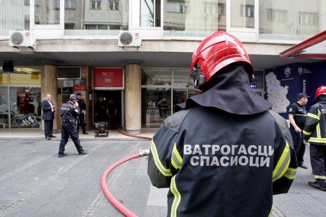 Fire Breaks Out In Belgrade S Central Knez Mihailova St