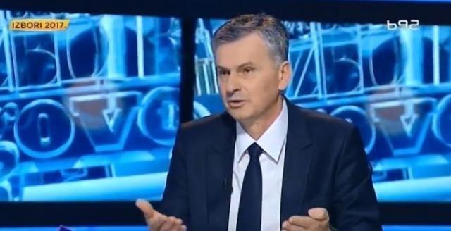 Stamatović otkazao sastanak sa Ružićem zbog protesta SNS