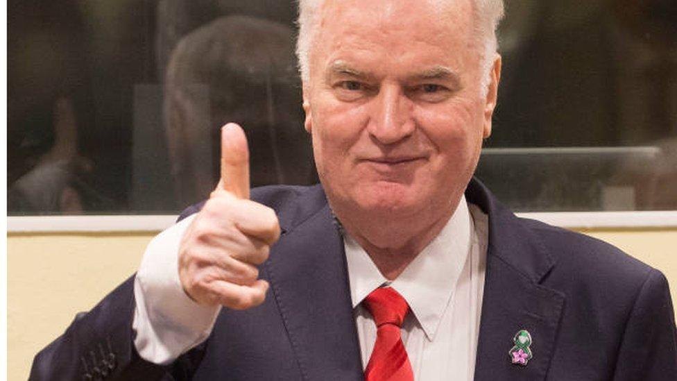 Delimična pravda: Ratko Mladić na izricanju presude u Hagu/Getty Images